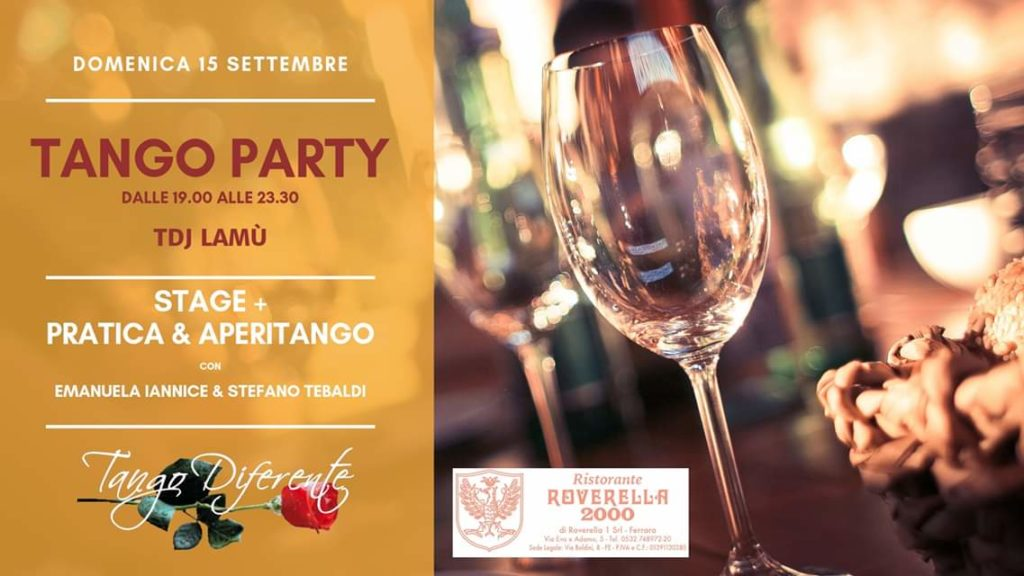 Tango Party Settembre @ Roverella 2000